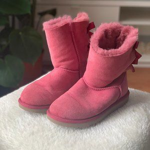 UGG Women's Bailey Bow Pink - US 5